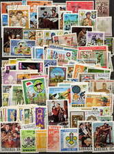 BOY SCOUT - SCOUTING STAMP COLLECTION - 200 DIFFERENT STAMPS - NO DUPLICATES!