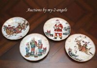 NEW Williams-Sonoma 'Twas The Night Before Christmas Salad Plates MIXED SET/4