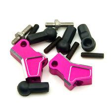 Alloy Front Upper Arm Set Pink For 1:10 RC Drift Car Sakura D4 RWD Hop Up Parts