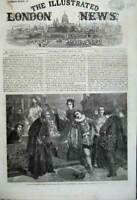 Old Antique Print 1862 Merchant Venice Scene Royal Academy Prize Painting 19th