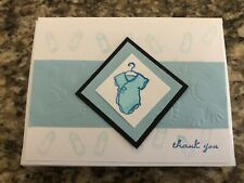Baby Scrapbook Shower Thank You Cards