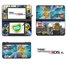 LEGO CITY UNDERCOVER Vinile Autoadesivo PER NUOVO NINTENDO 3DS XL (con bastone C)