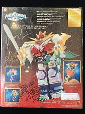 POWER RANGERS LOST GALAXY DELUXE CHARGING GALAXY MEGAZORD SIGNED * MOVIE *