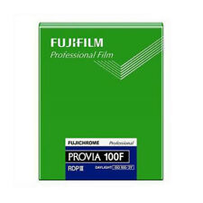 Fujichrome Provia RDPIII 4X5 RDP100F 1pack/20shts Color Slide Film Fresh 2021
