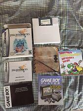 Nintendo Gameboy Advance GBA Final Fantasy Tactics Advance CIB Complete Game Boy