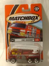 Matchbox Flame Eaters Fire Crusher #27 of 75 Mattel 1:64 Scale Diecast mb1745