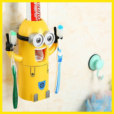 New Bathroom Products Cute Design Set Cartoon Toothbrush Holder Automatic