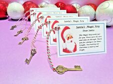 Small Santa's Magic Key - Christmas Eve Kids Activity - Traddition - No Chimney