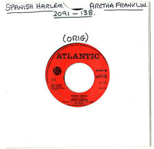 "SOUL.ARETHA FRANKLIN.SPANISH HARLEM / LEAN ON ME.UK ORIG 7"".EX/VG"