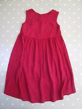 GHOST Girls Red Dress. Age 6-7 (LL)