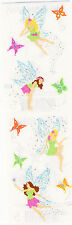 Mrs. Grossman's Stickers - Reflections Pixies - Fairy & Butterfly - 3 Strips