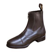 Mark Todd Toddy Zip Jodhpur Boot UK 6 Brown