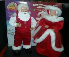 Interactive Rock a Long Santa Mrs Claus Musical Animated Jingle Bell Synchronize