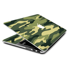Skin Wrap for MacBook Pro 15 inch Retina  Green Camo original Camouflage
