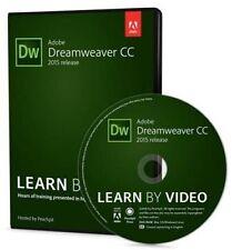 USED (LN) Adobe Dreamweaver CC Learn by Video (2015 release) by Rob Huddleston