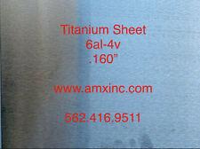 Titanium Sheet 6al 4v 160 X 12 X 12