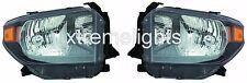 TOYOTA TUNDRA 2014 2015 2016 2017 HEADLIGHTS HEAD LAMPS SET- TRD PRO MODEL