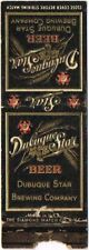 1930s Iowa Dubuque Star Beer Matchcover TavernTrove