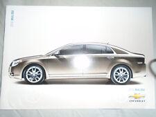 Chevrolet Malibu brochure 2010 marché canadien