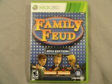 Family Feud 2012 Edition (Microsoft Xbox 360, 2011) Steve Harvey Complete