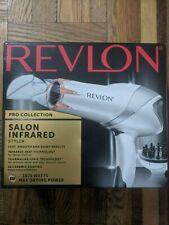 Revlon RVDR5105 Infrared Hair Dryer for Faster Drying & Maximum Shine BRAND NEW!