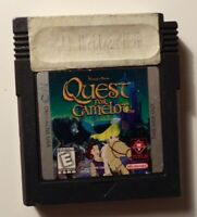 1998 Nintendo Gameboy QUEST FOR CAMELOT - Tested - No Box/Manual