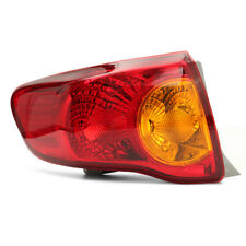 Tail Light Rear Lamp Left Driver Side For 2008 2009 2010 Toyota Corolla