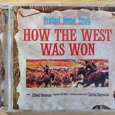 NEW SEALED - HOW THE WEST WAS WON - Film Soundtrack Musical Music CD Album