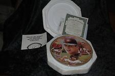 "Cal Ripken Jr. Plate""Baseball Record Breakers"" by Jason Walker,Bradford Exchange"