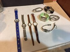 Vintage Womens watches Gossip Citizen Guess Lot of 9 untested for repair 9
