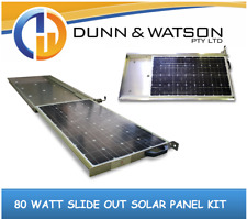 80 Watt Slide Out Solar Panel kit (4wd, 4x4, Slideout, 80w, Pull Out, Pullout)