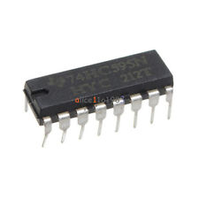 20pcs 2.0 ~ 6.0 V TOP SN74HC595N 74HC595 8-Bit Shift Register DIP-16 IC