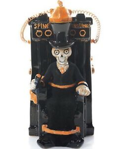 """Yankee Candle 2015 Boney Bunch Online Exclusive ELECTRIC CHAIR """" Spine Tingling"""""""