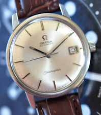 Vintage 1970 Omega Seamaster Watch Original Silver Dial Cal 565 Runs Looks Great