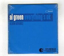 CD SINGLE PROMO (NEW) AL GREEN EVERYTHING 'S OK
