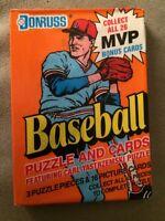 1990 Donruss Baseball Card Wax Pack Bobby Thigpen White Sox Showing Bottom Back