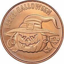 1 oz Copper Round - Halloween