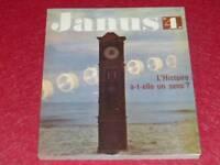 [BIBLIOTHEQUE H & P.-J.OSWALD] JANUS N° 4 1964/5  L'HISTOIRE A-T-ELLE UN SENS ?