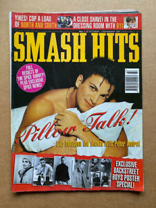 PETER ANDRE SMASH HITS MAGAZINE OCTOBER 22 1997 Peter andre COVER with more insi