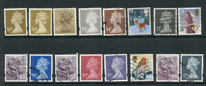 Selection of United Kingdom Stamps - 50p > £2.00 - USED [7356]