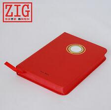 Superheros Ally Hardbound sketchbook IRONMAN inner RED drawing paper notebook