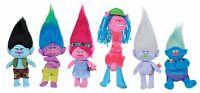 Dreamworks Trolls Plush 18cm/7' Poppy,Guy Diamond,Biggie,Branch,Creek,Cooper New