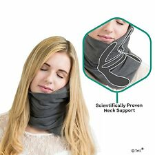 Pillow Scientifically Proven Super Soft Trtl Neck Support Travel Pillow *Grey s