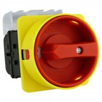 Not-Aus-Schalter Trennschalter ML0 32A 3P Hauptschalter IP54 PCE MERZ 6600
