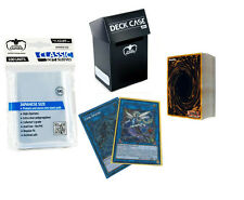 50 YuGiOh! Cards Pack w/ NEW LINK MONSTER + Rares + Deck Box + Sleeves