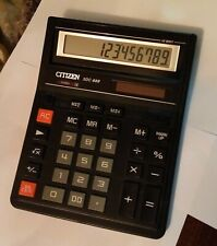 Citizen SDC-888 12-Digit 2 power Desktop Solar Calculator