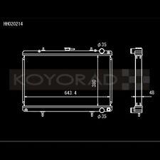 Koyo HH020214 HH Series Racing Radiator for 89-93 Skyline GT-R (R32)