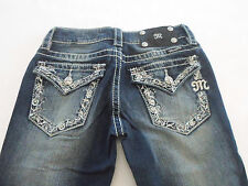 MISS ME WOMENS JEANS SKINNY TAG: 25 - ACTUAL SIZE 25X32 #JP5521S