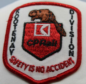 CP Rail Kootenay Division Safety is no Accident Railroad Train Hat Cap Snapback