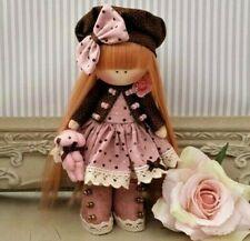 Rag doll handmade in the UK Tilda doll Cloth doll Art doll LILY 6 inch tall
